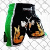 FIGHTERS - Thaibox Shorts / Elite Fighters / Black-Green