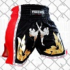 FIGHTERS - Thaibox Shorts / Elite Fighters / Black-Red