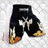 FIGHTERS - Thaibox Shorts / Elite Fighters / Black-White