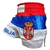 FIGHTERS - Muay Thai Shorts / Serbien-Srbija / Gbr / Small