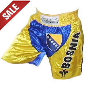 FIGHT-FIT - Muay Thai Shorts / Bosnien / Small